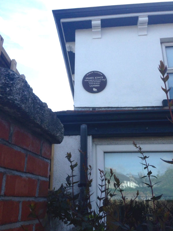 Dromard Avenue James Joyce house