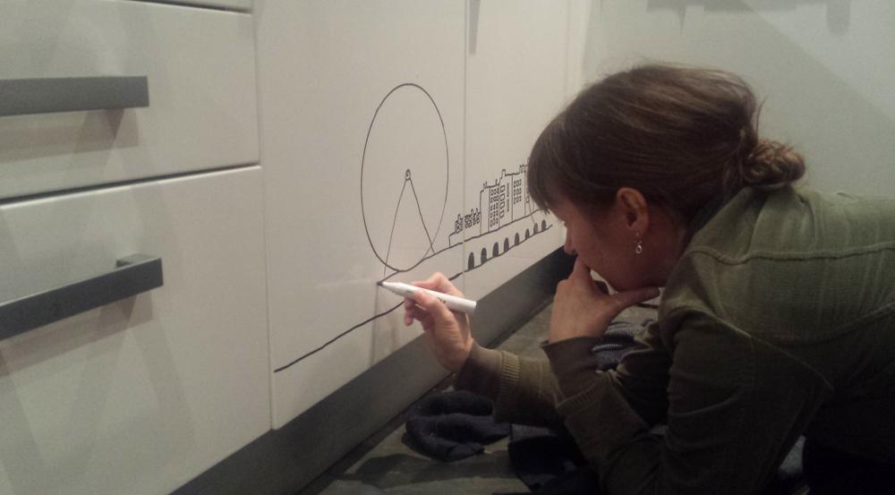3 Kitchen doodle
