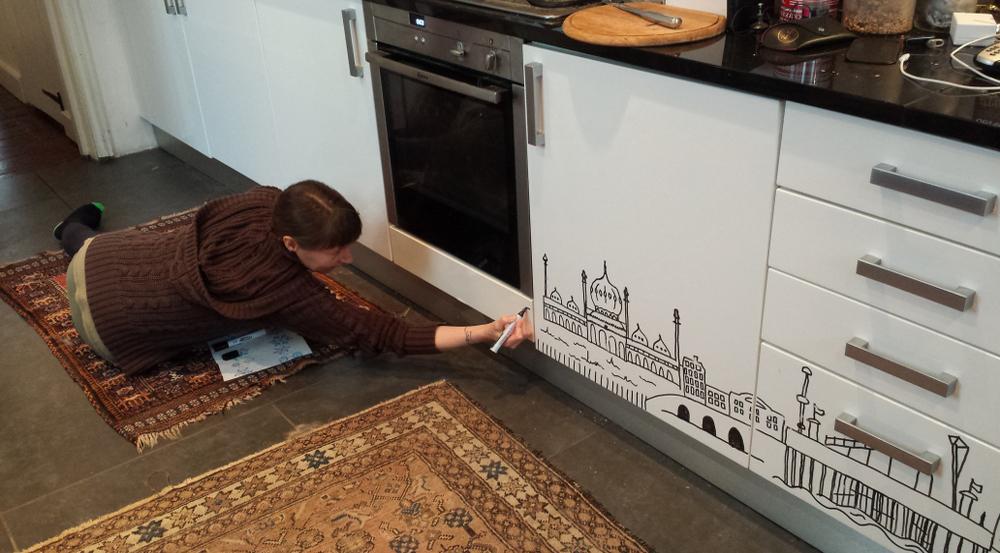 4 Kitchen doodle